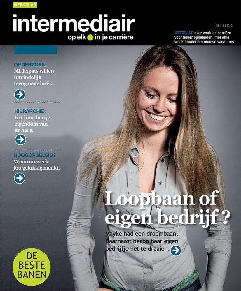 Intermediair cover 1