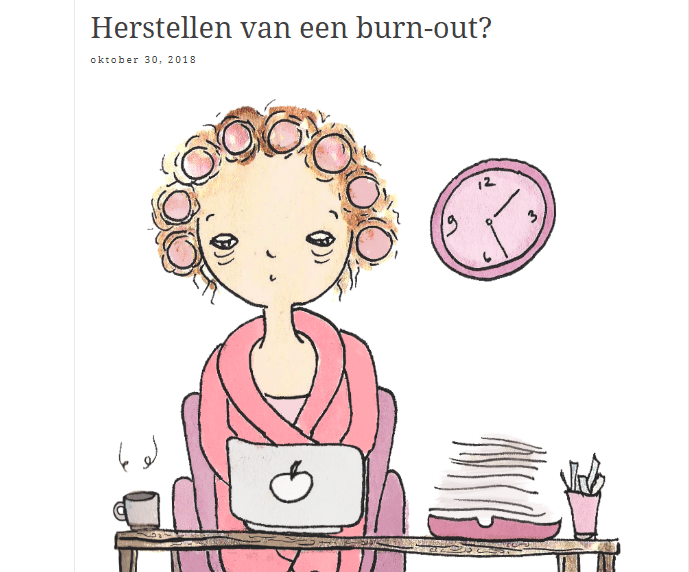 Herstellen van een burn-out.
